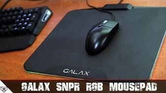 GALAX SNPR - RGB Mouse pad