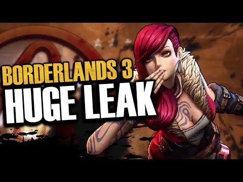 Borderlands 3 HUGE LEAK! Game 80-85% Done, Children Of The Vault, & More!