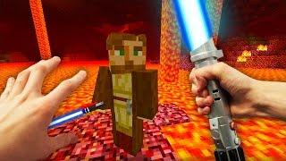 REALISTIC MINECRAFT - STEVE MURDERS OBI WAN KENOBI! (Star Wars)