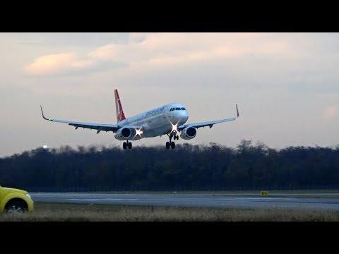 Plane Spotting at *EuroAirport Basel-Mulhouse-Freiburg* -EPIC SOUND and SUNSET- !!!