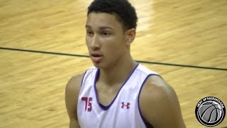 Aussie Ben Simmons SHINES @ NBPA Top 100 - Camp MVP - Best Player in 2015?