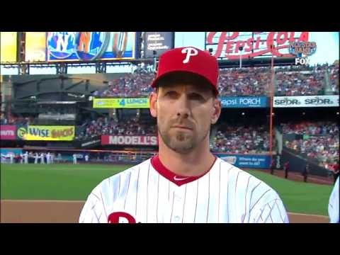 [HD] Cliff Lee During the 2013 MLB ASG Player Introductions