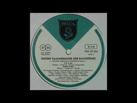 Heitere Kammermusik der Bach Sohne, side 2,Otto Buchner,Violin etc