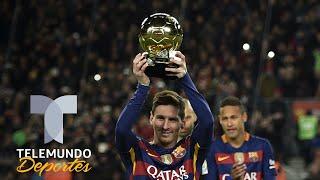 Lionel Messi Ya Sabe Que Ganará Su Sexto Balón De Oro | Telemundo Deportes