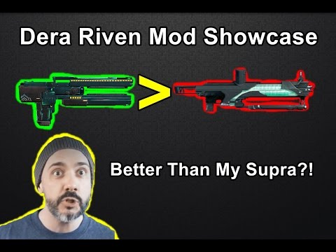 Holy Sh*t, I Did Not Expect That... Dera Riven Mod Showcase