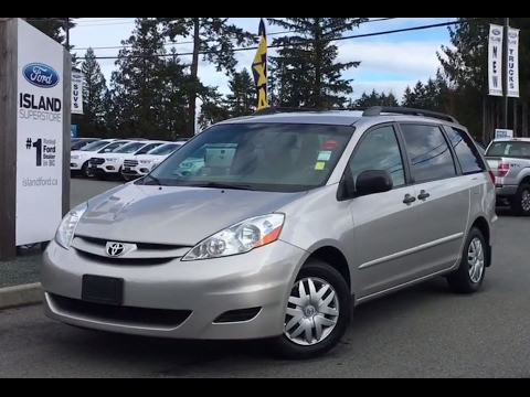 2009 Toyota Sienna Ce Fold And Stow Seats Review Island Ford