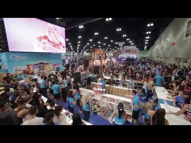 The Los Angeles Fit Expo Promo [YouTube 動画] クリックで動画がスタンバイされ、もう1回クリックすると再生します