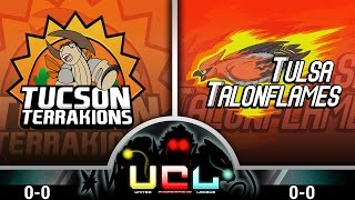 Pokémon ORAS LIVE Wi-Fi Battle [UCL S1W1] Tucson Terrakions vs Tulsa Talonflames