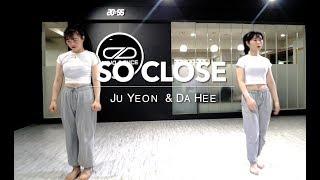 MIND DANCE(마인드댄스) 실용무용 입시반(Duet) 8:30 Class | NOTD - So Close | 주연, 다희