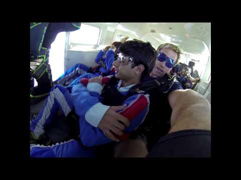 SOHAN SHASHANK SHAH's Tandem skydive!