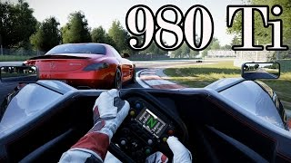 Project Cars: Max Settings GTX 980 Ti