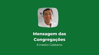Culto online das Congregações | Mensagem 26/07/2020