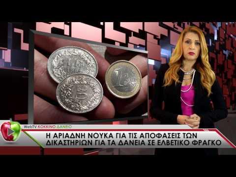 Νούκα Αριάδνη: Τα πάντα για τα δάνεια σε ελβετικό φράγκο