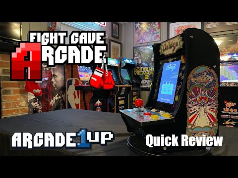 Arcade1Up Galaga Countercade Gen 2 with Galaga 88 quick review from Combat and Collecting