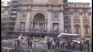 La Fontana de Trevi vuelve a ser la que era