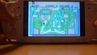 PSP: GBA Emulator Example