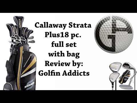 Callaway Strata Plus 18 Pc. Full Club Set With Bag Review