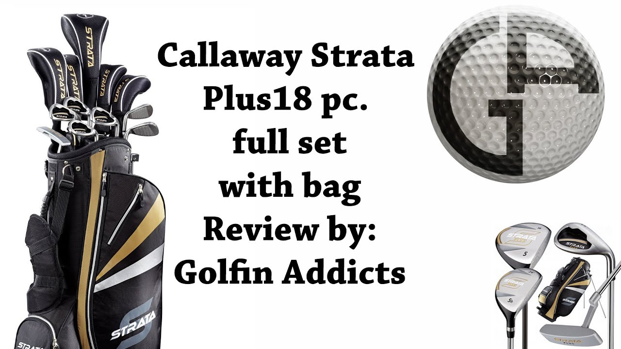 Callaway Strata Plus 18 Pc Full Club Set With Bag Review