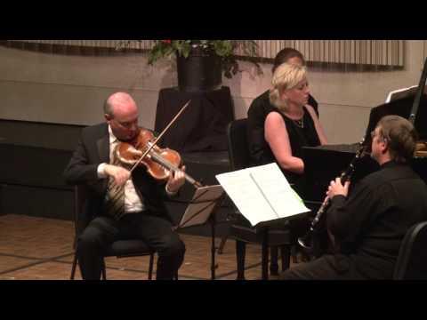 Trio for Clarinet, Viola and Piano by Lowell Liebermann, World Premiere, Tucson AZ