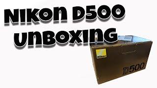 Nikon D500 Unboxing and D7500 comparison