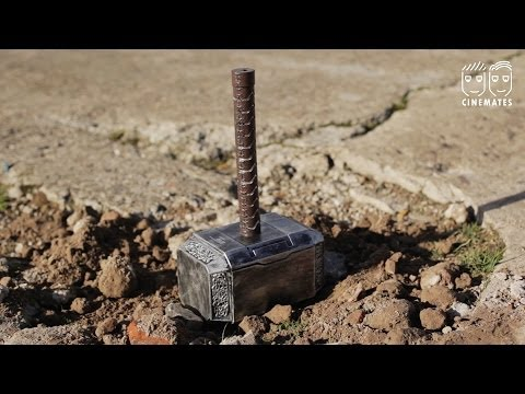 THOR HAMMER REPLICA (CUSTOM MADE - SOLID METAL) from YouTube · High Definition · Duration:  3 minutes 34 seconds  · 33.000+ views · uploaded on 18-2-2012 · uploaded by LA CrimeGuy