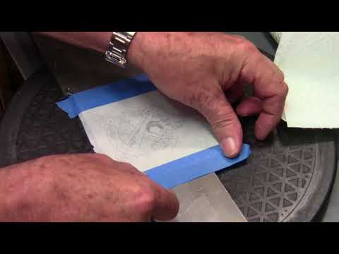 How to do an image transfer for engraving with a laser printer