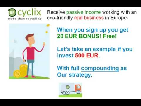 Recyclix Presentation – 100% Passive Investment – No Brainer