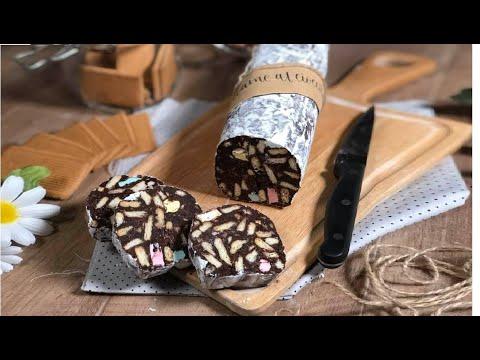 Ricetta Salame Di Cioccolato Senza Uova Fatto In Casa Da Benedetta.Senza Uova Salame Di Cioccolato Fatto In Casa Ricetta Semplice Senza Cottura Youtube