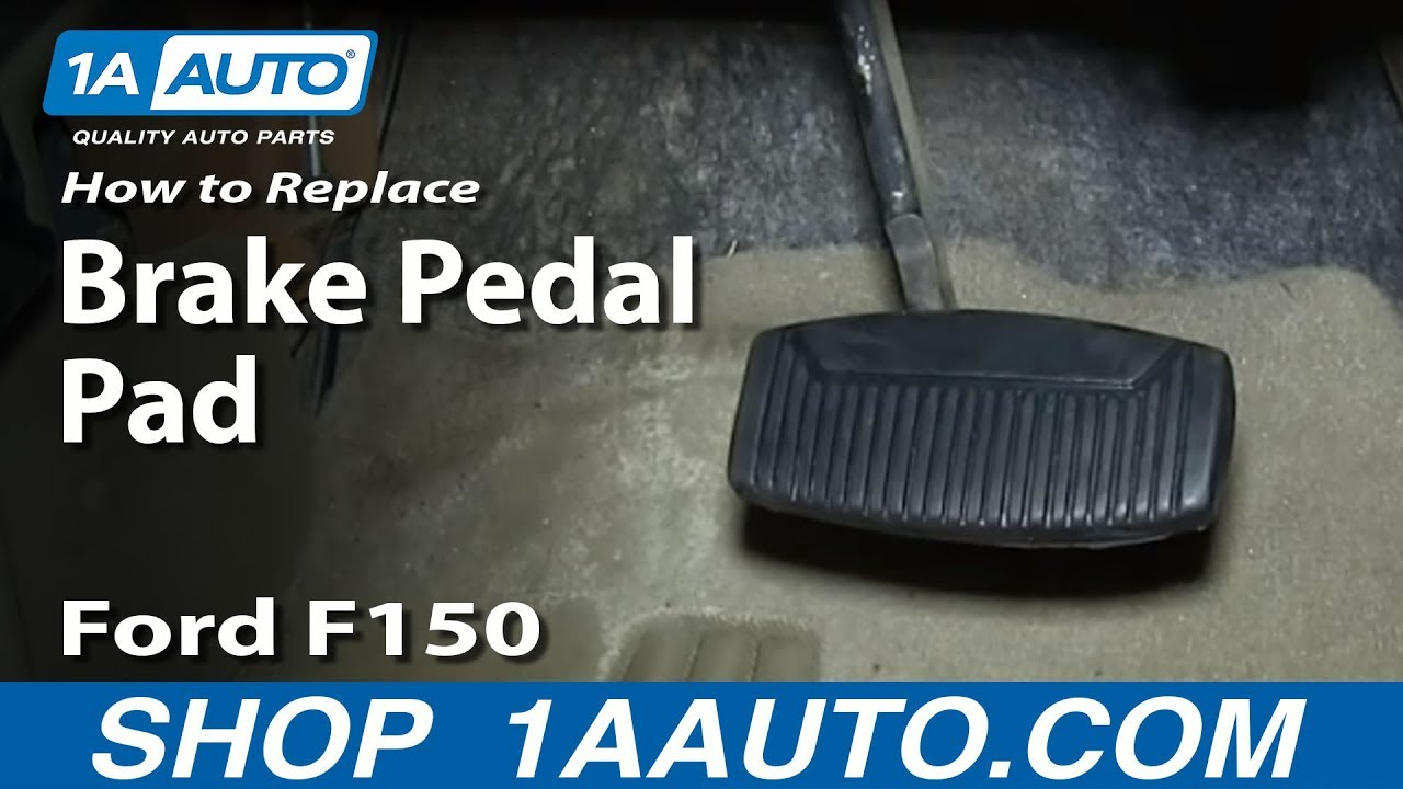 New Ford Explorer >> How to Replace Brake Pedal Pad 75-08 Ford F150 Truck - YouTube