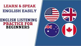 English Listening Practice For Beginners | Easy English Conversation Practice Lesson 6