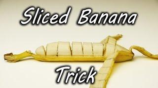 びっくり! 簡単! 便利! むいたらすでに切れてるバナナ!?