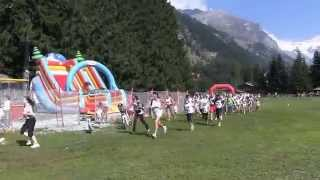 GRESSONEY Saint Jean / La Course du 12 Août 2015