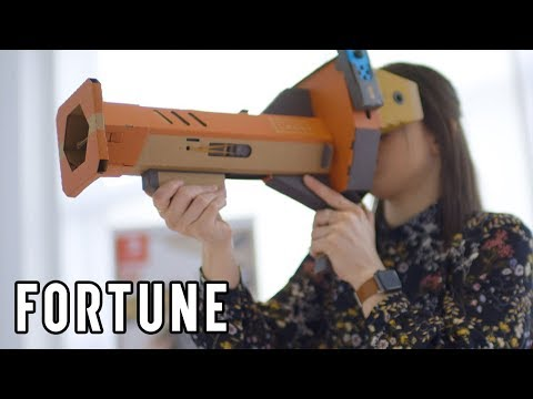 Hands-On With Nintendo's Lavo VR I Fortune