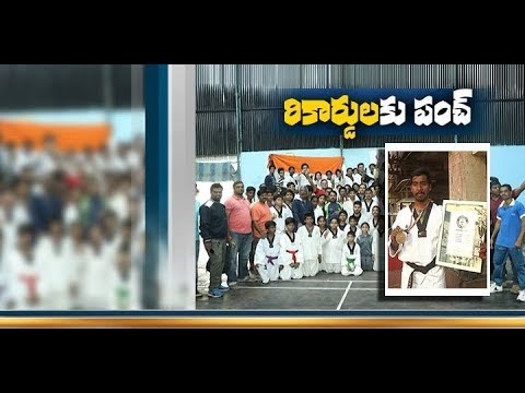 Sai Deepak Creates Guinness Record in Taekwondo