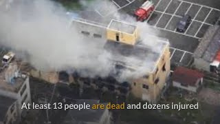 Japan anime studio arson attack kills 23