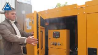 видео Дизельная электростанция SDMO D 275