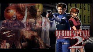Resident Evil 2 - Leon B Até o Final - Game Cube