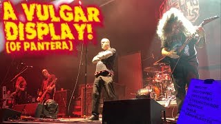 Philip H. Anselmo & The Illegals Full Pantera Set! Back Stage & INSIDE the barricade! Oakland, CA