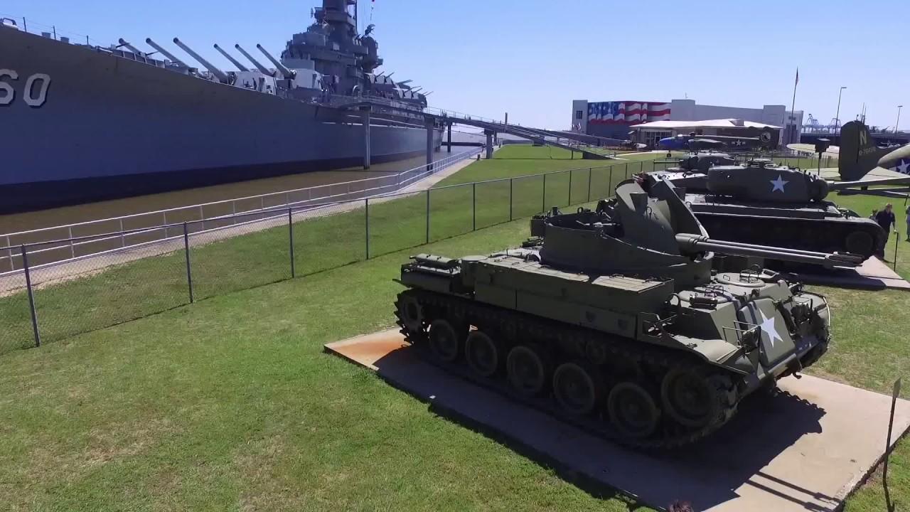 Battleship Tour In Alabama
