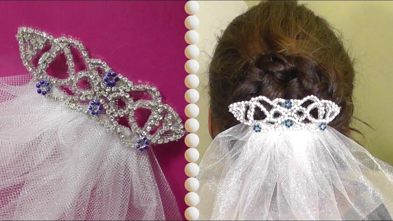 DIY | Bellas Wedding Hair Accessoire - Haarkamm - YouTube