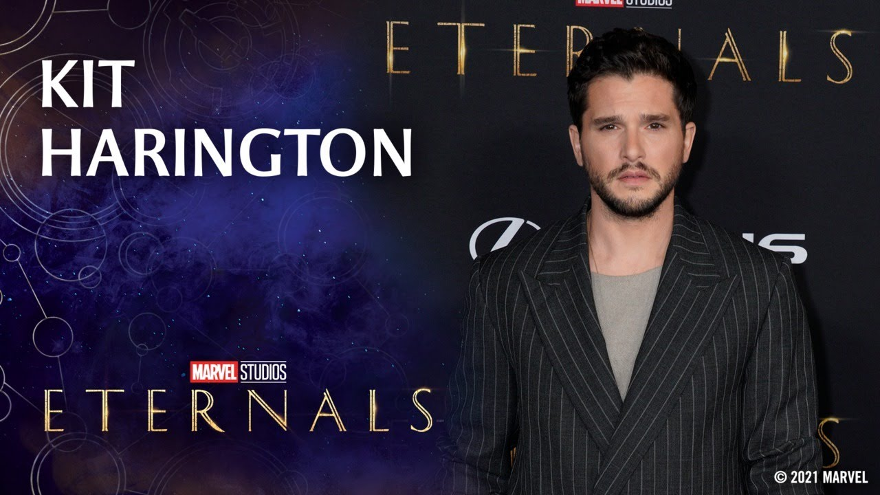 Download Kit Harington Knows All About Fandom | Marvel Studios' Eternals Red Carpet