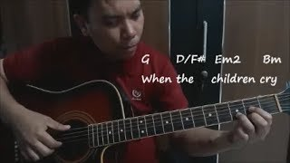 White Lion When The Children Cry Cover Guitar Fingerstyle, Lyrics Chord.mp3