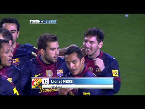 La Liga | Gol de Lionel Messi con el que supera el record de Müller