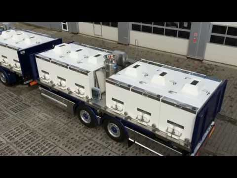 Fish transporting tanks  (Fish & Seafood Live Transport Containers)