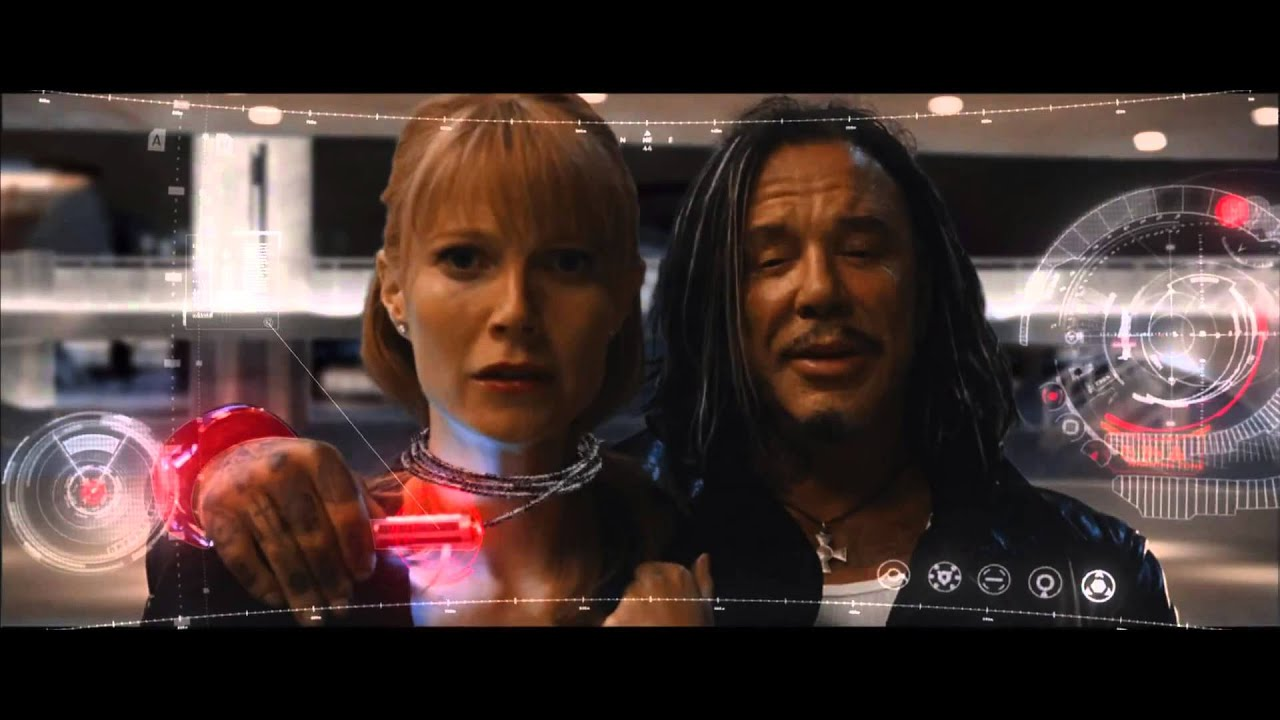 Iron Man 2: Whiplash Attacks Pepper At The Expo