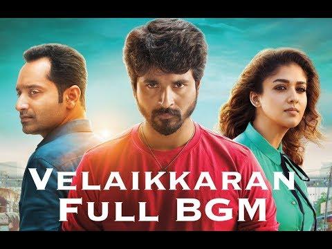 Velaikkaran Full BGM | Sivakarthikeyan, Nayanthara | Anirudh