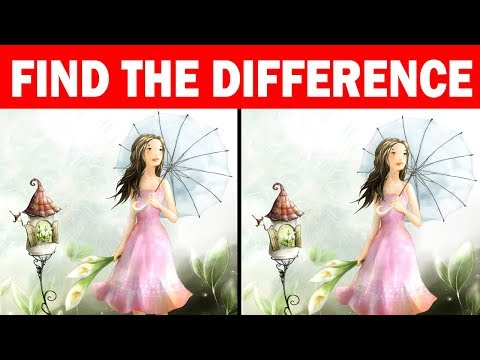 Only Genius Can Find Difference Between Two Pictures