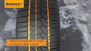 Zimske gume CONTINENTAL WINTER CONTACT TS 860 S | Zelo zmogljive zimske pnevmatike Continental