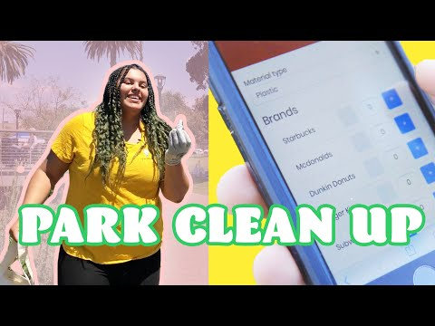 We Used A Mobile App To Pick Up Trash