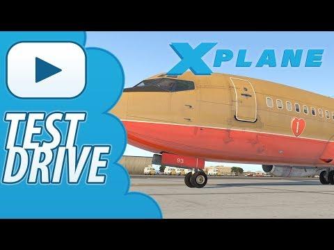 Test Drive | Xplane 11 | FlyJSim 732 TwinJet v3